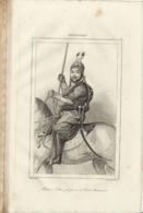 AFGHANISTAN AKBAR KHAN FILS FAVORI DE DOST MOHAMMED 1835 INCISIONE DI LEMAITRE - Prints & Engravings