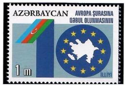 Azerbaijan 2011 . Azerbaijan At The Council Of Europe -10y. 1v: 1m.   Michel # 839 - Azerbaiján
