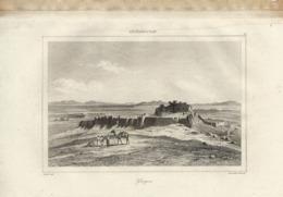 AFGHANISTAN GHAZNA 1835 INCISIONE DI LEMAITRE - Prints & Engravings