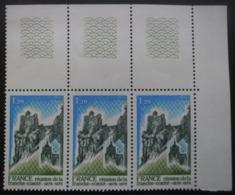 FRANCE N°2015a Gomme Tropicale En Bande De 3 Neuf ** - Postzegels