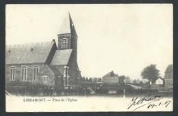 1.1 // CPA - LIBRAMONT - Place De L'Eglise   //:: - Libramont-Chevigny
