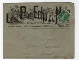* - Belle Lettre Illustrée Du Petit Echo De La Mode - Cachet Illisible - 1877-1920: Période Semi Moderne