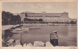 CARTOLINA - Baia è Una Frazione Di Bacoli - NAPOLI - VIA LITORANEA - PALAZZO REALE - VIAGGIATA PER REGGIO EMILIA - Napoli (Naples)