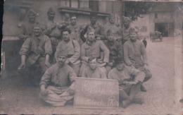 CARTE PHOTO Militaires Du 243e Classe 1920 Volante Du PA/30 - Lille