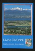 Divonne Les Bains (01) : Panorama Sur Le Lac Léman Et La Chaîne Du Mont Blanc - Divonne Les Bains