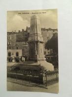 CORSE CPA SARTENE MONUMENT AUX MORTS - Sartene