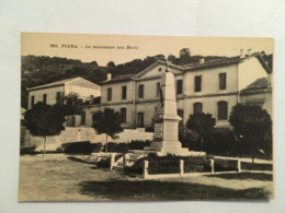CORSE CPA PIANA LE MONUMENT AUX MORTS - Francia