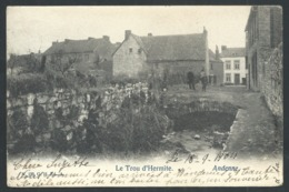 1.1 // CPA - ANDENNE - Le Trou D'Hermite   // - Andenne