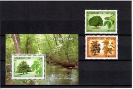 Azerbaijan 2011 . EUROPA 2011 (Forests). 2v: 20, 60 + S/S :1.00    Michel # 840-41 + BL 99 - Azerbaiján