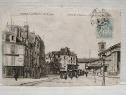 St Germain En Laye. Place Du Château. Station Des Tramways - St. Germain En Laye