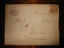 Enveloppe GC 2170 La Maison Blanche Seine - 1849-1876: Période Classique