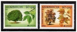 Azerbaijan 2011 . EUROPA 2011 (Forests). 2v: 20, 60  .    Michel # 840-41 - Azerbaiján