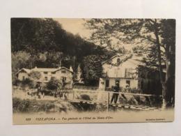 CORSE CPA VIZZAVONA VUE HOTEL DU MONTE D'ORO - Autres Communes
