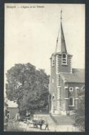 1.1 // CPA - HOUYET - L'Eglise Et Les Tilleuls - Attelage  // - Houyet