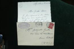 Lettre FM BPM 517 A Avec Correspondance 19/4/52  SP 70 616 - Poststempel (Briefe)