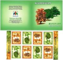 Azerbaijan 2011 . EUROPA 2011. Booklet.   Michel # 840-41D  MH - Azerbaiján