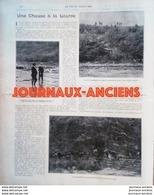 1900 CHASSE A LA LOUTRE - DEUX SEVRES -  BRETAGNE - DURANCE - ARDENNES - LA VIE AU GRAND AIR - Livres, BD, Revues