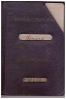PASSEPORT  R.F.  N°10633 DAKAR   ABDIJAN  -GUINEE -1957   7 TIMBRES FISCAUX - Vieux Papiers