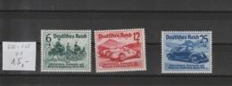 Deutsches Reich MNr. 686 - 688 **/MNH - Deutschland