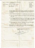 Document Top Secret - 1944 - Lieutenant-Colonel Charade - G.R.I. - Fayd Fanara Egypte - Voir Scan - 1939-45