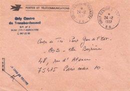 LSC 1987 - Griffe Et Cachet ORLY CENTRE De TRANSBORDEMENT B.O. - Marcofilia (sobres)