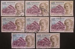 FRANCE N°1846 X 7 Oblitéré - Postzegels