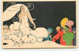 N°13529 - René Vincent - En Février, Exposition De Blanc - Art Déco - Lévrier - Werbepostkarten