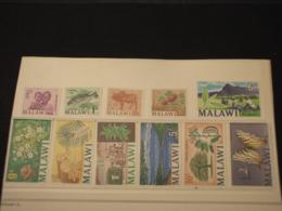 MALAWI - 1966/7 PITTORICA 11 (LGS 2 FARFALLA)   VALORI - NUOVI(++) - Malawi (1964-...)