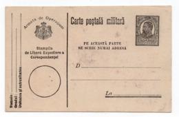 1915 WWI,  ROMANIA, MILITARY CARD, MINT - 1881-1918: Charles I
