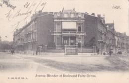 Liège Avenue Blonden Et Boulevard Frère-Orban Circulée En 1905 - Liege