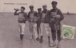Blankenberghe Les Sauveteurs Circulée En 1907 - Blankenberge
