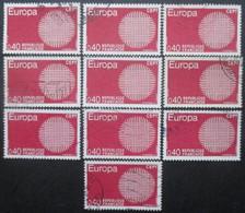 FRANCE N°1637 X 11 Oblitéré - Postzegels