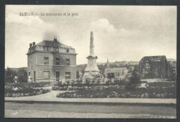 1.1 // CPA - SAMSON - Andenne - Le Monument Et Le Pont   // - Andenne
