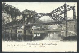1.1 // CPA - Environs De Namur - Le Pont De NAMECHE - Couleur 1905   // - Andenne