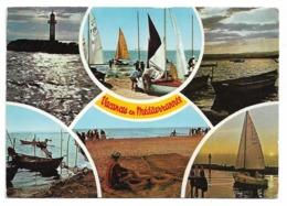 34 Vacances En Méditerranée (Cachet Agde 1971) - France