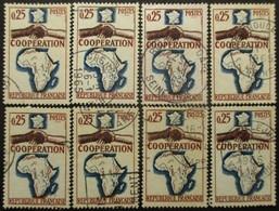 FRANCE N°1432 X 8 Oblitéré - Postzegels
