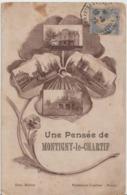 MONTIGNY Le CHARTIF - Une Pensée De Montigny Le Chartif. - Autres Communes