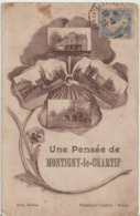 MONTIGNY Le CHARTIF - Une Pensée De Montigny Le Chartif. - Francia