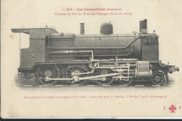 Locomotives  Espagne  No214 - Spain
