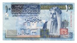 JORDAN»10 DINARS»2012»P-36 (WORLD PAPER MONEY)»UNC - Jordania