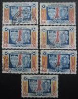 FRANCE N°1404 X 7 Oblitéré - Postzegels