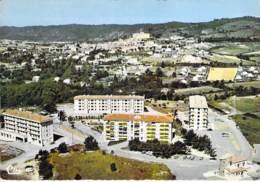 ** Lot De 2 Cartes ** GREOULX LES BAINS Vues Aériennes ( Ancienne Et Nouvelle Cité ) - CPSM CPM Grand Format - Alpes HP - Gréoux-les-Bains
