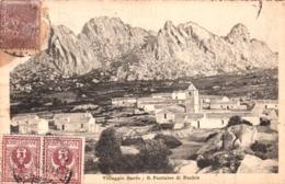 Sardegna - SAN PANTALEO DI NUCHIS  - Villaggio Sardo - 1920 - Sassari