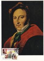 Carte Maximum Musique Opéra San Marin San Marino 1999 Rossini - San Marino