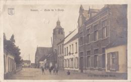 Photo Carte De Kessel Zicht In't Dorp Circulée En 1919 - Nijlen