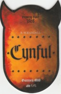 R.W.RANDALL BREWERY (GUERNSEY) - CYNFUL MILD - PUMP CLIP FRONT - Uithangborden