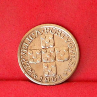 PORTUGAL 10 CENTAVOS 1961 -    KM# 583 - (Nº31625) - Portugal