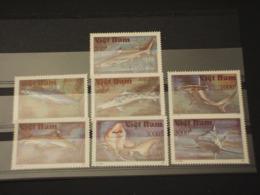 VIETNAM - 1991 FAUNA MARINA 7 VALORI - NUOVI(++) - Vietnam