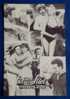 """ZACHI NOY / JESSE KATZUR / BEA FIEDLER Im Erotik-Film """"Eis Am Stiel (6. Teil)"""" # NFP-Filmprogramm Von 1985 # [19-2894] - Films & TV"""
