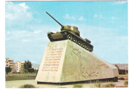 Mongolia - Ulaanbaatar - Ulan Bator - T-34 Tank - Monument - Panzer - Mongolia